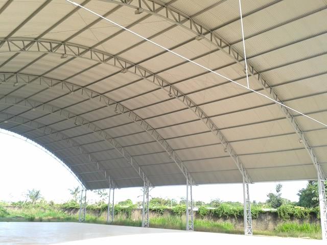 Cobertura com Estruturas Metálicas em Santo André - Estrutura de Metal