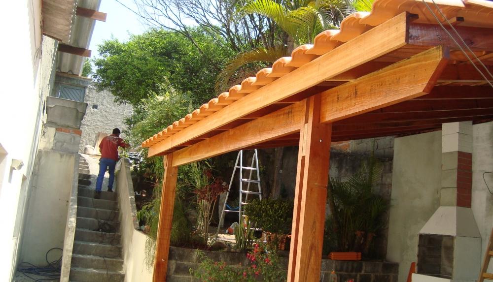 Estruturas em Madeiras no Jockey Club - Estrutura de Madeira
