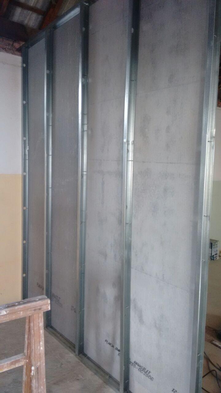 Orçamento para Fechamento Lateral com Chapa Cimentícia em São Bernardo do Campo - Fechamento Lateral com Drywall