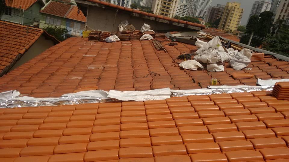 Orçamento para Reforma de Telhado na Cidade Ademar - Telhado de Cerâmica