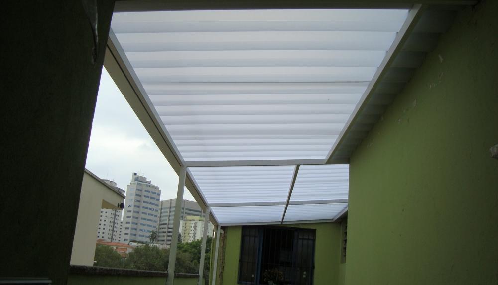 Orçamento para Telhado Transparente no Rio Pequeno - Telhado Ondulado