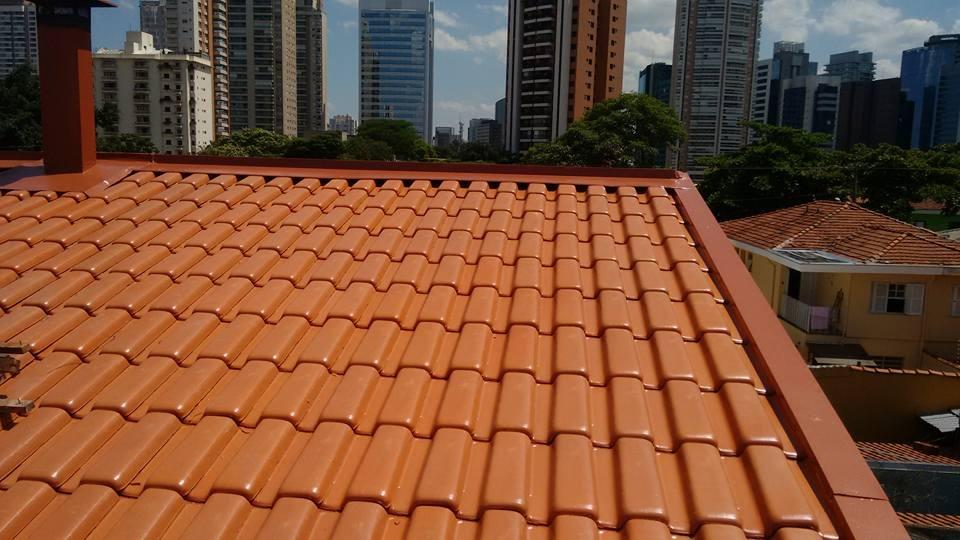 Telhado de Cerâmica em Jaçanã - Telhado Transparente