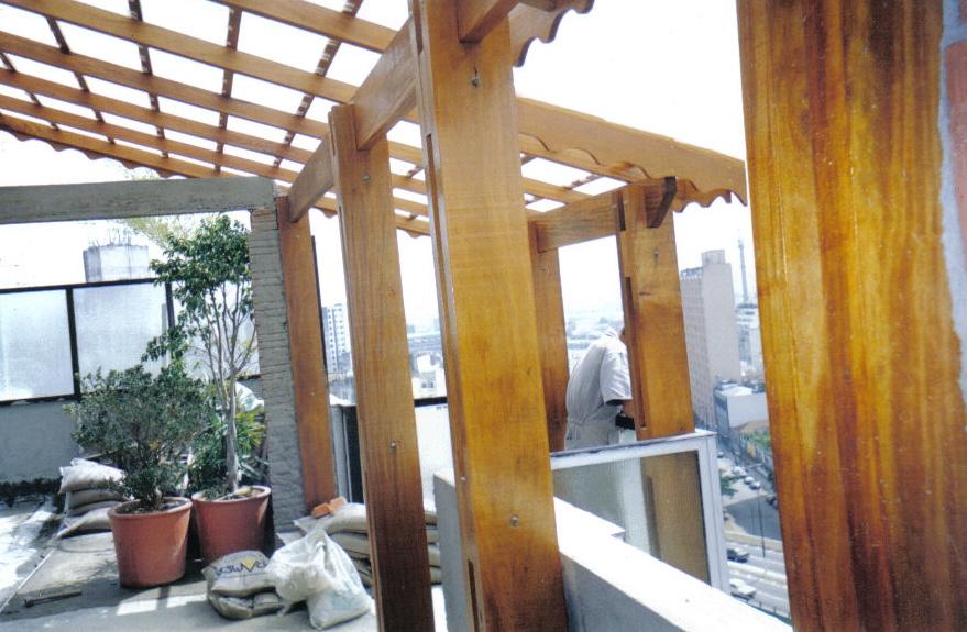 Telhado de Madeira na Vila Guilherme - Telhado Transparente