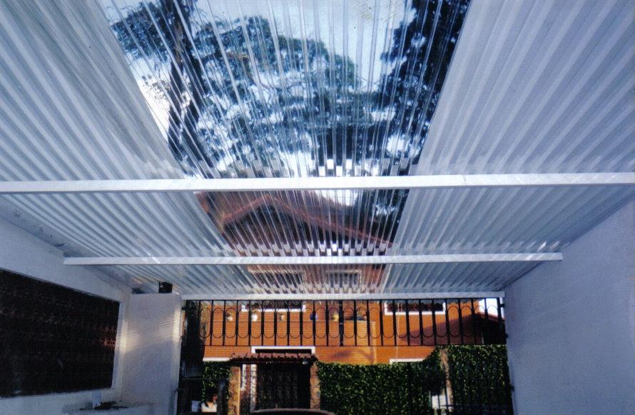 Telhado Transparente no Pacaembu - Telhado de Cerâmica
