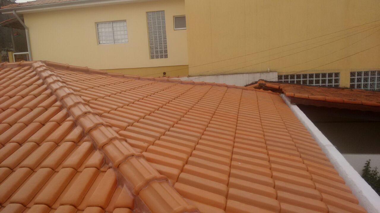 Telhados com Calhas Embutida no M'Boi Mirim - Telhado Ondulado