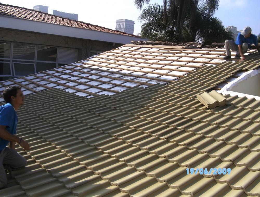 Telhados com Telha Tégula na Vila Esperança - Telhado de Isopor