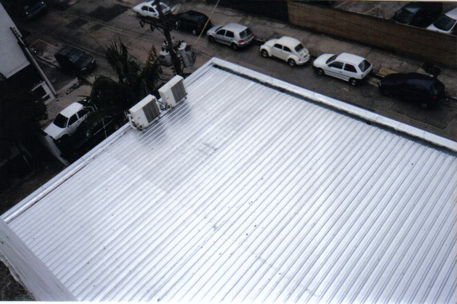 Telhados com Telhas de Aço na Cidade Dutra - Telhado Ondulado