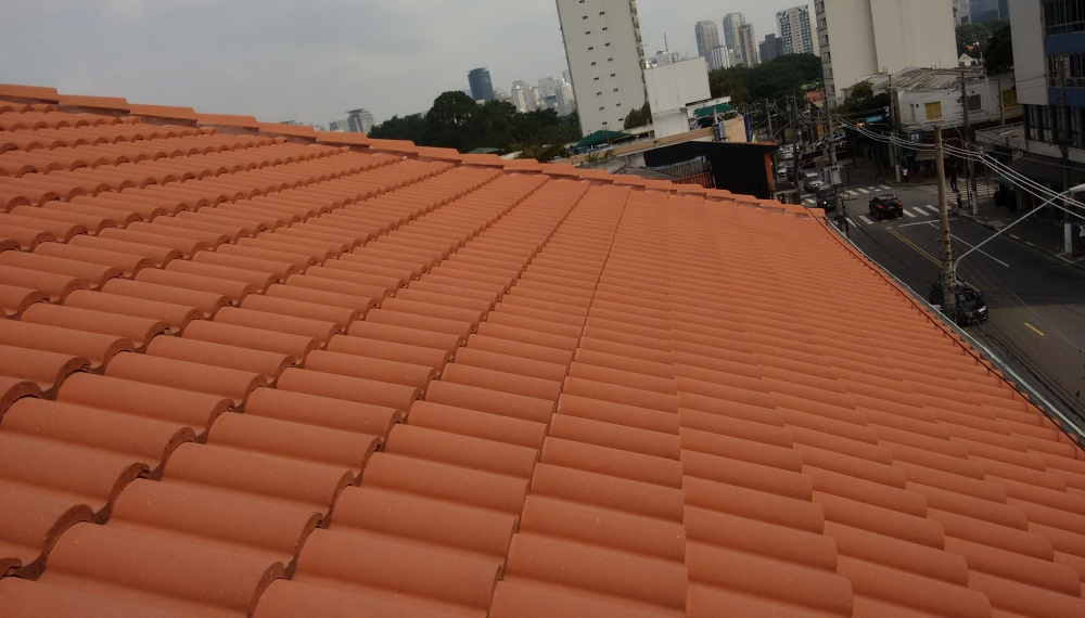 Telhados em São Paulo no Campo Belo - Telhado de Cerâmica