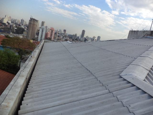 Telhados Ondulados na Vila Medeiros - Telhado de Cerâmica