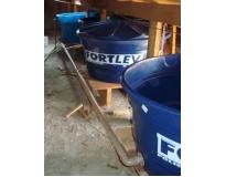 instalação de caixa de água