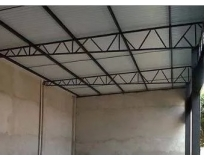 cobertura com estrutura metálica preço no Grajau