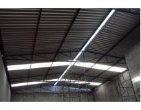 coberturas com telhas galvanizadas