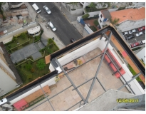 construção de estruturas metálicas em Interlagos