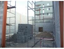 construção de galpões no Ibirapuera
