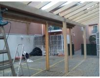 empresa de construção de estruturas de madeira na Vila Gustavo