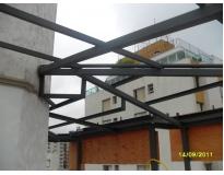 empresa de empresa fabricante de estrutura metálica em Moema