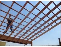 empresa de estrutura de madeira em Santo Amaro
