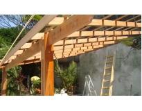 empresa de estruturas em madeira em Perus