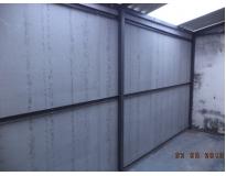 empresa de fechamento lateral com chapa cimentícia no Sacomã