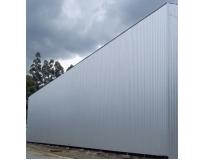 empresa de fechamento lateral com telhas metálicas na Lapa