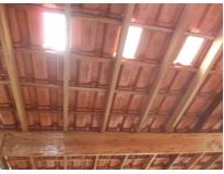 empresa de telhado com estrutura de madeira no Morumbi