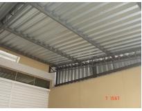 empresa de telhados com telha de aço em Santo Amaro