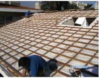 empresa de telhados em sp na Cidade Jardim