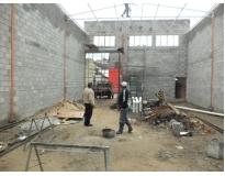 especialista em construção de galpões no Jardim Bonfiglioli