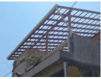estrutura de madeira em sp na Vila Esperança