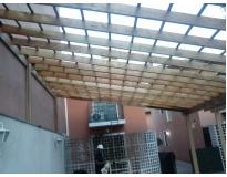 estrutura de madeira em telhados preço na Água Branca