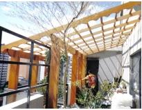 estrutura de madeira preço no Jardins