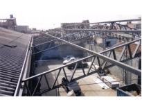 estruturas metálicas na Barra Funda