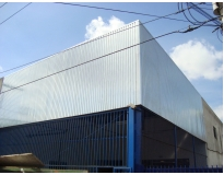 fechamento lateral com telhas metálicas preço na Penha