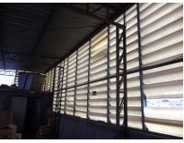fechamento lateral de estrutura metálica preço em São Bernardo do Campo