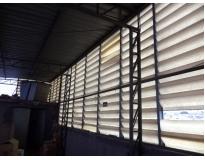 fechamento lateral de estrutura metálica preço no Morumbi