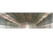 fechamento lateral de estrutura metálica no Jardim São Luiz