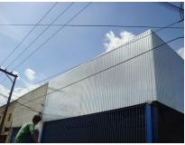 fechamento lateral com drywall