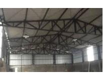 fechamento lateral com telha de aço