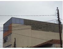 fechamentos laterais em policarbonato na Vila Maria