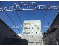 galpão com estrutura metálica na Vila Andrade