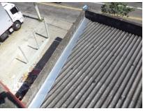manutenção de calhas e telhado na Pedreira