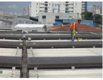 manutenção de calhas e telhados no Jaguaré