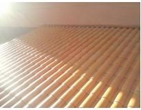 manutenção de calhas e telhas