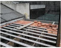 mezanino em lajes de concreto na Vila Sônia