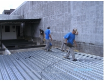 mezanino em steel deck preço no Alto da Lapa