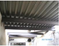 mezaninos em estrutura metálica em Pinheiros