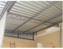 orçamento para cobertura com estrutura metálica na Vila Maria