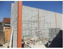 orçamento para construção de galpão na Vila Leopoldina