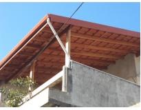 orçamento para construtora de estruturas de madeira na Água Funda
