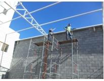 orçamento para especialista em construção de galpões na Água Funda